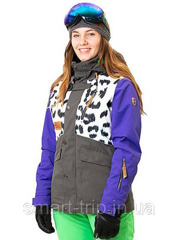 Горнолыжная куртка REHALL MOOD-R white leopard (50857 s)