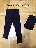 Лосины на меху для девочек оптом, Grace, 98-128 см,  № G80479