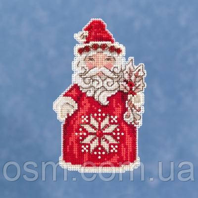 Набір для вишивки Nordic Santa by Jim Shore Mill Hill