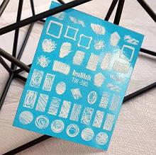 Слайдер-дизайн Dream Nails (водные наклейки)