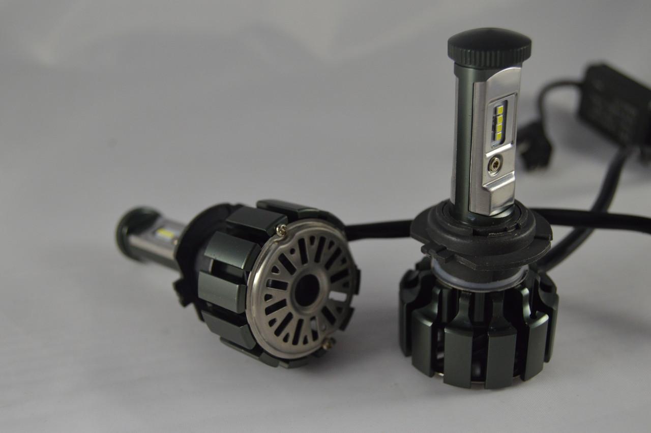 Светодиодные автомобильные Led лампы Turbo T6-H7 35W 3500 LM 6000К +ПОДАРОК!