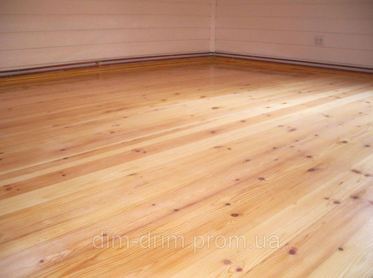 Дошка для підлоги строгана суха, смерека