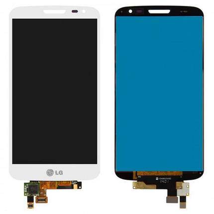 Дисплей (экран) для LG D620 G2 mini с сенсором (тачскрином) белый Оригинал, фото 2