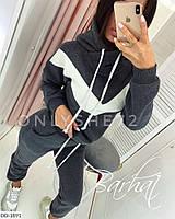 Стильные теплые женские спортивные костюмы