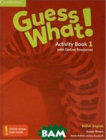 Reed Guess What! Level 1. Activity Book with Online Resources British English