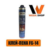 Клей-пена для полистирола Ferom FG-14 (800мл.) Турция