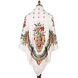 10878-0 (Вечер в парке), павлопосадский платок из вискозы с подрубкой Стандартный сорт, фото 2