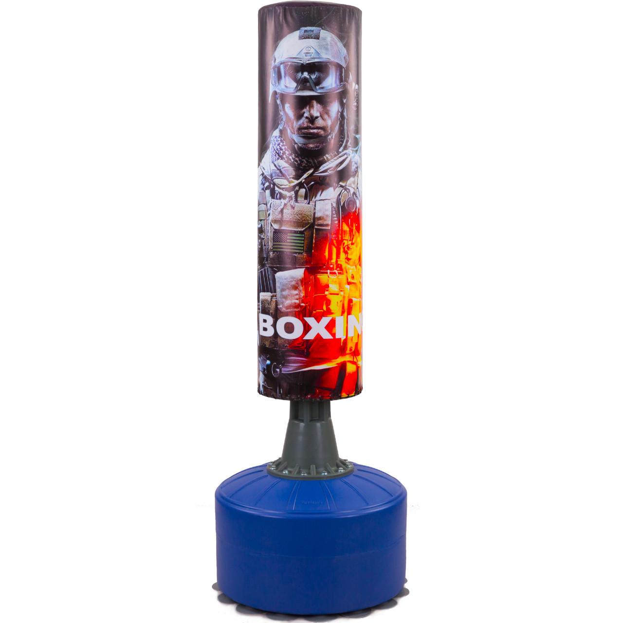 Мешок боксерский напольный водоналивной ТЕРМИНАТОР HJ-G073-T