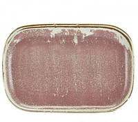 Блюдо прямоугольное 24 x 16.5 см, Terra Porcelain Rose Pink, GenWare