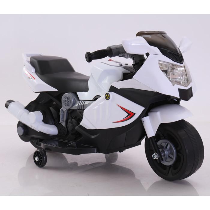 Електромобіль Т-7215 WHITE мотоцикл 6V4AH мотор 1*12W 86*44*52