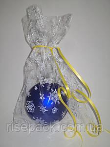 Пакети подарункові новорічні 20х30см