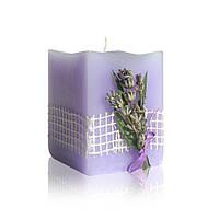 Свеча Ароматерапия: Цветок лаванды 10 часов 50/50/60 мм