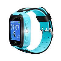 """Детские смарт-часы Canyon CNE-KW21 Blue; 1.44"""" (240х240) сенсорный / LBS / 42 х 42 х 14 мм, 44 г / IP65 / 400 мАч / синий"""