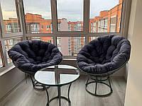 Комплект из техноротанга PAPASAN, кресло из ротанга, садовая мебель, садовые качели, мебель для балкона, лоджи, фото 1