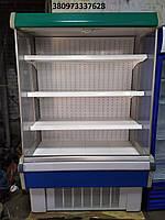 Регал Холодильный Бу, горка холодильная 1,3м бу, стеллаж холодильный, фото 1