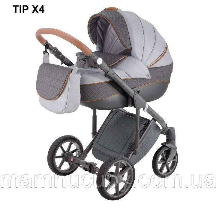 Детская универсальная коляска 2 в 1 Adamex Dragon X4 (адамекс драгон)