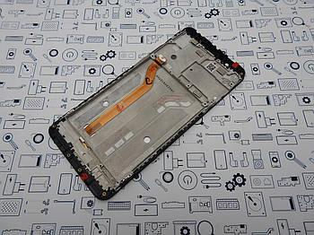 Дисплей Asus Max Pro ZB602KL модуль черный Сервисный оригинал с разборки