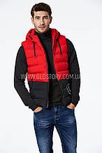 Мужская жилетка с капюшоном Glo-Story