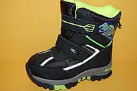 Детская зимняя обувь Термообувь Том.М Китай 3859 Для мальчиков Черные размеры 27_32, фото 1