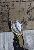 Наручные женские часы Quartz металлический золотистый браслет