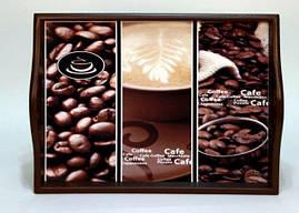 """Поднос на подушке, с ручками """" Coffee """" 6021-5"""