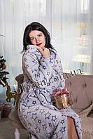 Жіночий халат на запах., фото 1