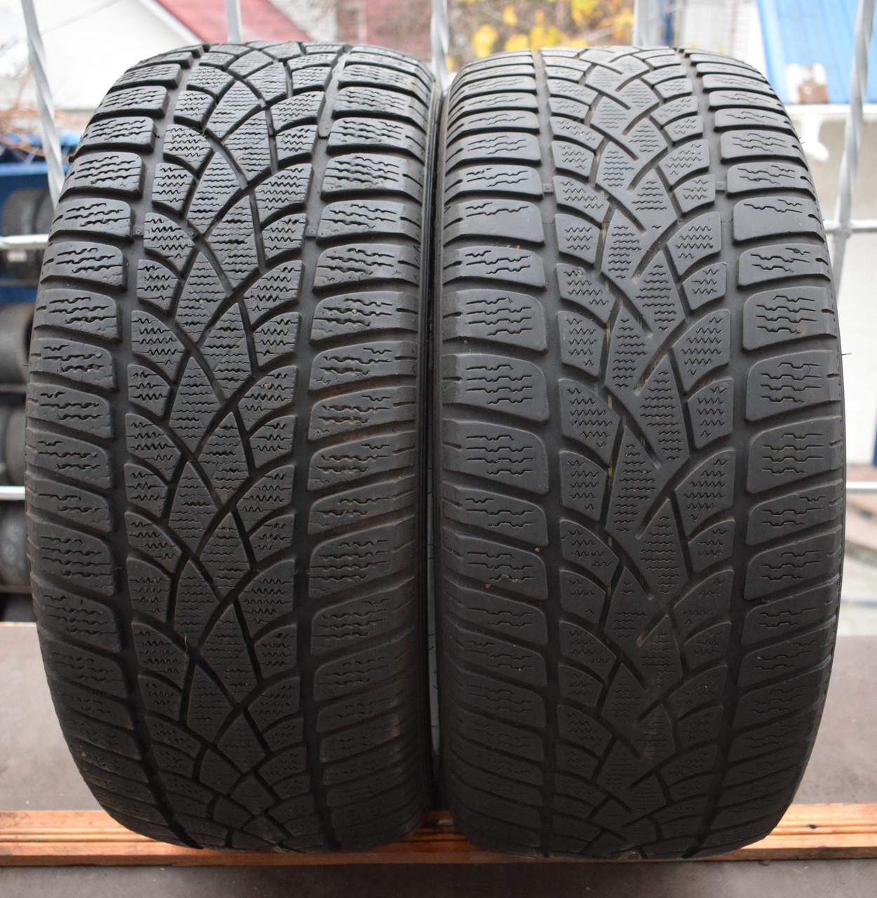 Шины б/у 225/45 R17 Dunlop SP Winter Sport 3D, ЗИМА, пара