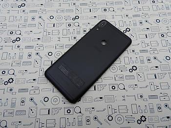 Крышка Asus Max Pro ZB602KL черная оригинал с разборки
