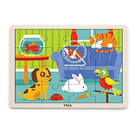 "Пазл Viga Toys ""Домашние животные"" (51453)"