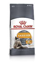 Сухой корм Royal Canin Hair and Skin Care для взрослых кошек, 10КГ