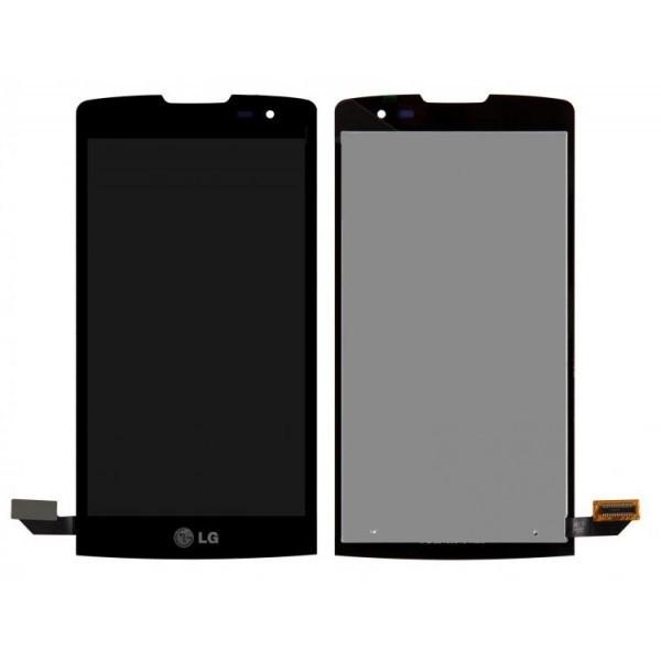 Дисплей (экран) для LG H324 Leon Y50 с сенсором (тачскрином) черный Оригинал