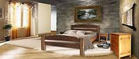 """Двуспальная кровать """"Эдель"""" из Дуба"""