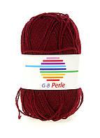 R2-550243_01, Нитки для вязания G-B 150 м , , бордовый