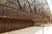 Будівнитство ангарів,зерноховищ,навісів на техніку,накриття., фото 1