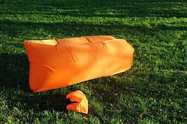 Надувний диван шезлонг LAMZAC (Помаранчевий)