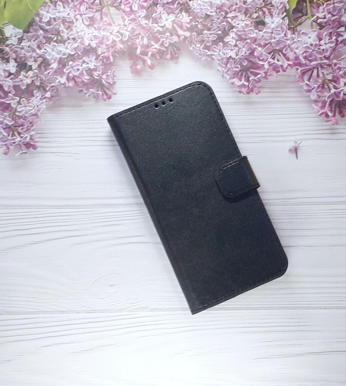 Чехол - книжка (с визитницей) для Samsung J6 Plus (2018), Black