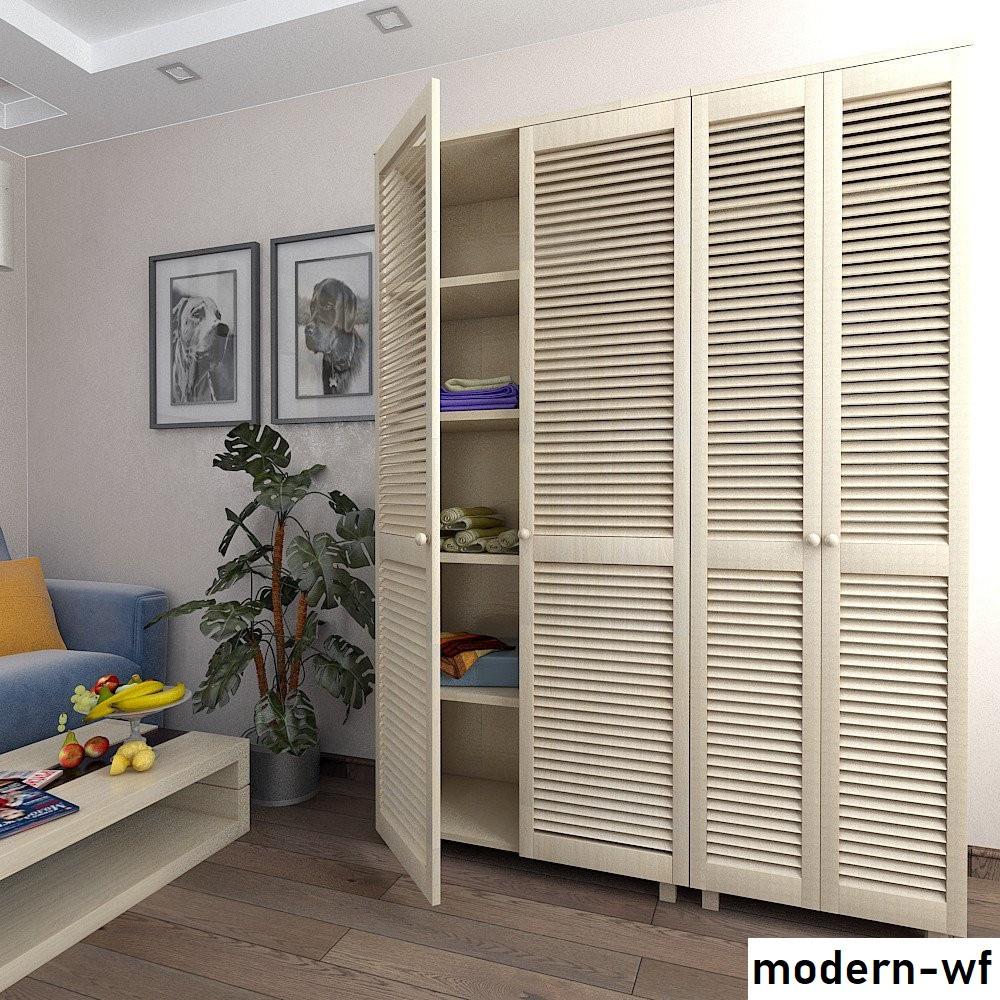 Деревянные фасады для шкафа в спальню