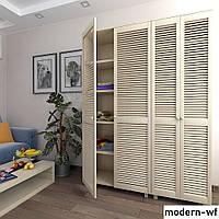 Деревянные фасады для шкафа в спальню, фото 1