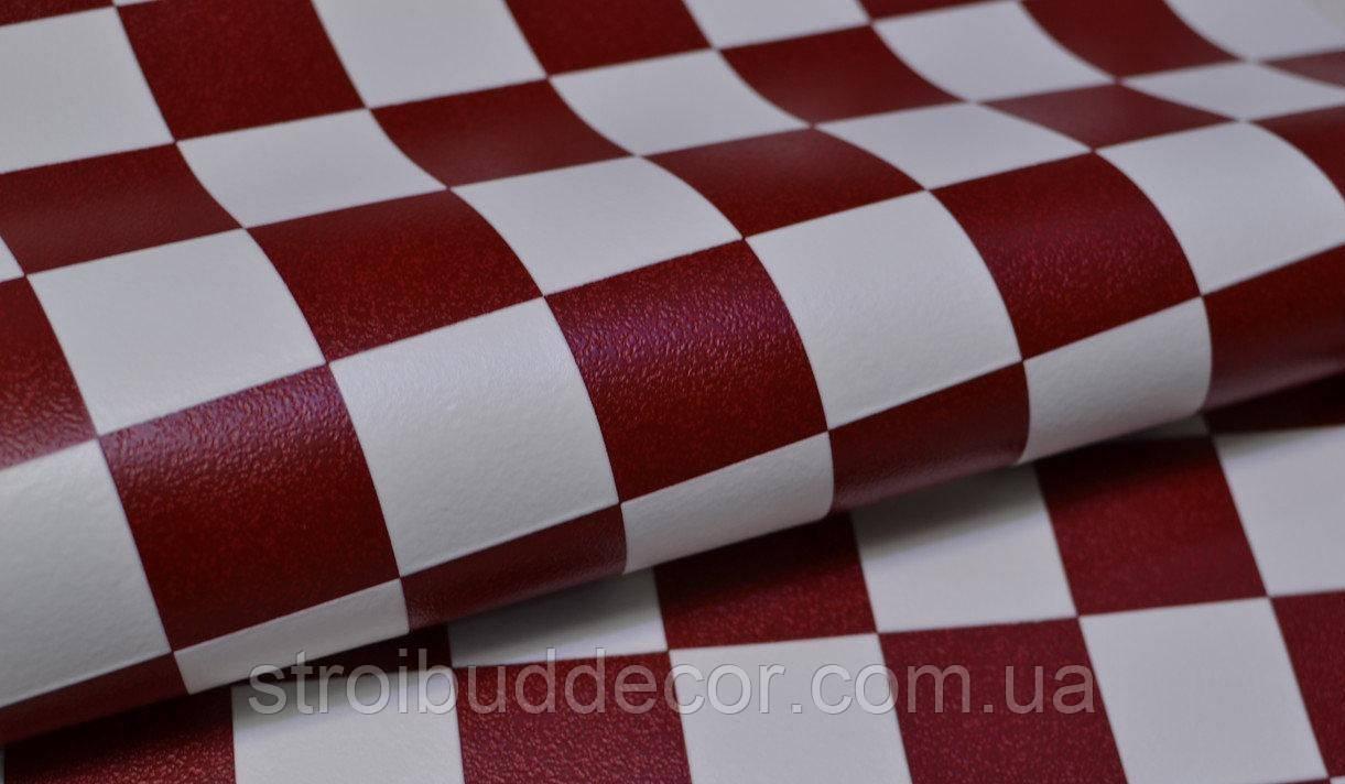 Обои Lanita виниловые на бумажной основе Анна  бело-красные (0,53х10,05м.)