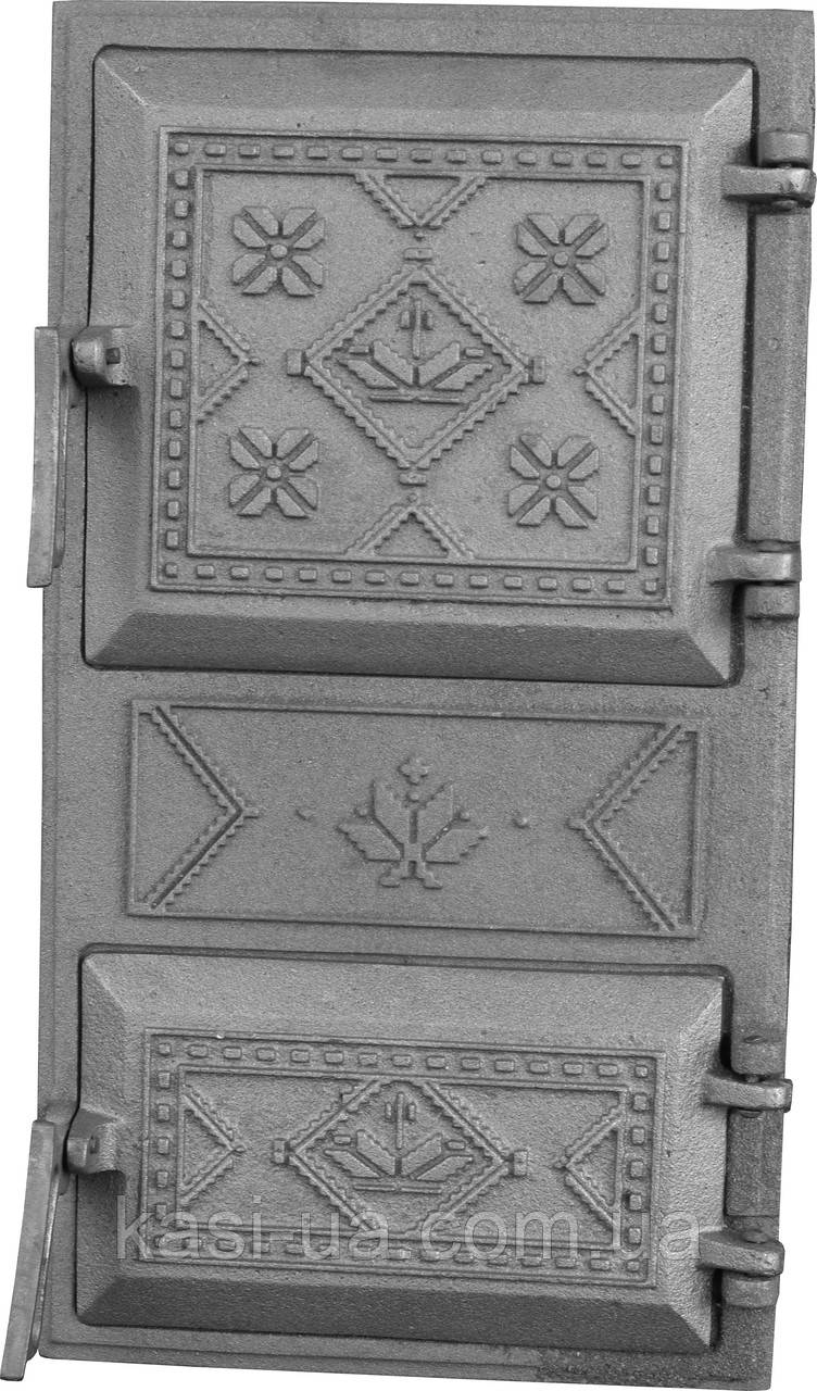 Дверка спаренная на защелке ДСЗ (480 х 265 мм.)