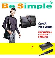 Кожаная сумка Polo Videng УЦЕНКА