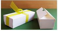 Коробка для Macaron 16*6*5см белая Галетте - 06876