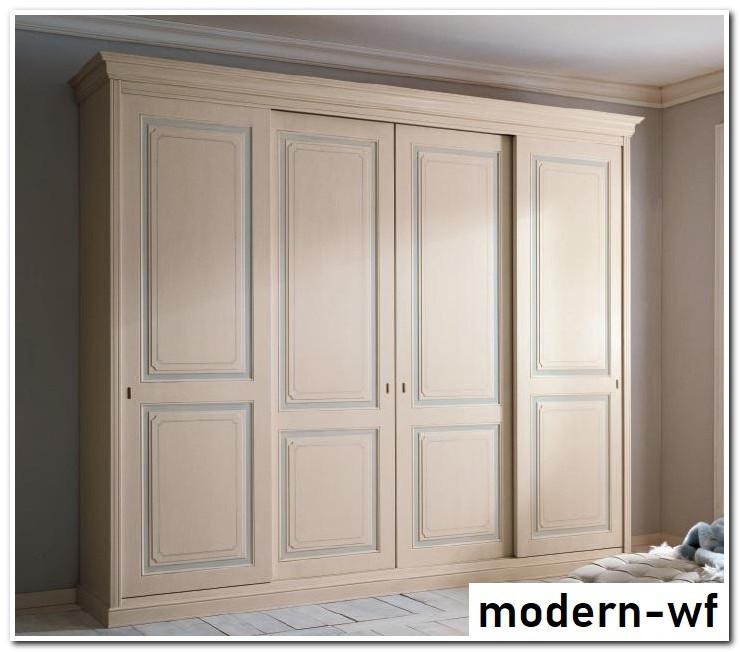 Деревянные фасады для шкафа купе в спальню