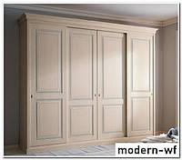 Деревянные фасады для шкафа купе в спальню, фото 1