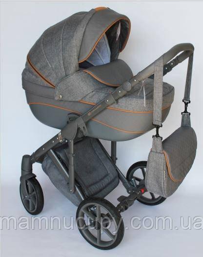 Детская универсальная коляска 2 в 1 Adamex Dragon X5 (адамекс драгон)