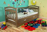 Кровать детская Arbor Drev Алиса сосна 80х190, Орех