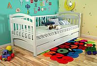 Кровать детская Arbor Drev Алиса сосна 90х200, Белый