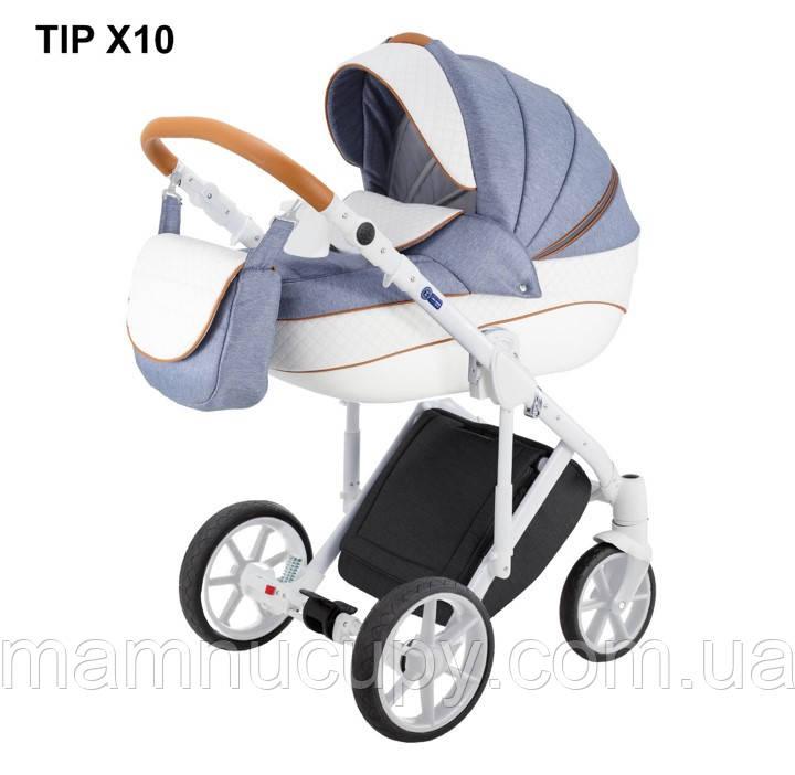 Детская универсальная коляска 2 в 1 Adamex Dragon X10 (адамекс драгон)