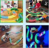 Magic Tracks 360 Mega Set Меджик Трек 360  деталей Детский конструктор Гибкий трек Гоночное шосе