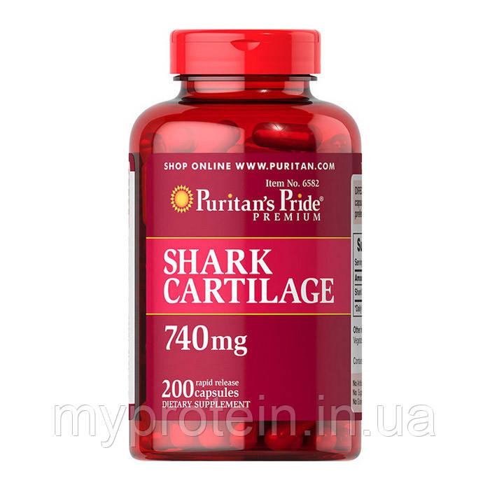 Puritan's Prideакулий хрящ Shark Cartilage 740 mg200 caps